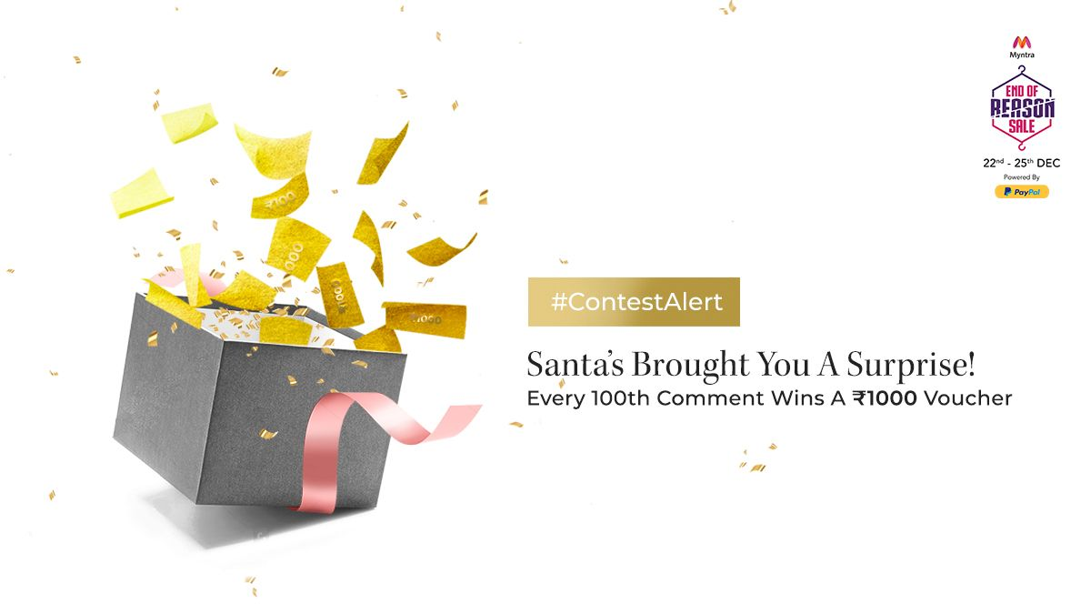 Myntra On Twitter Merry Christmas Everyone Weve Got A