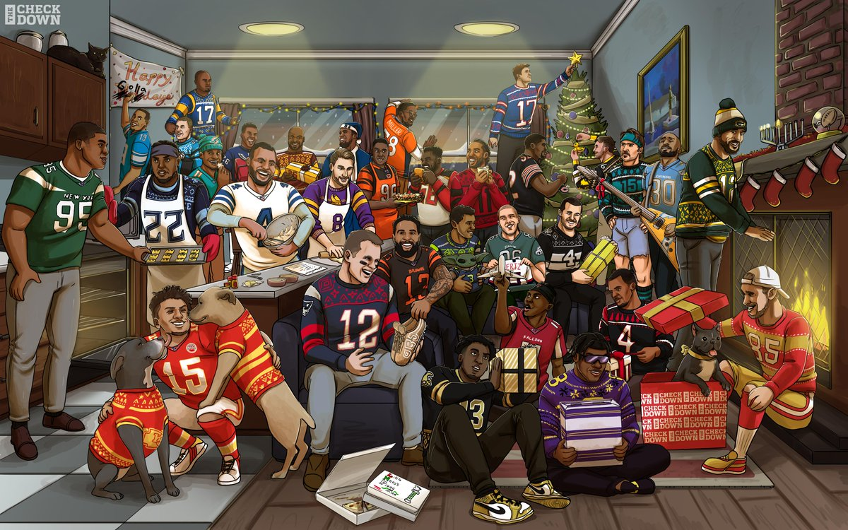 From the NFL family to yours... MERRY CHRISTMAS! 🎅🎄🎁