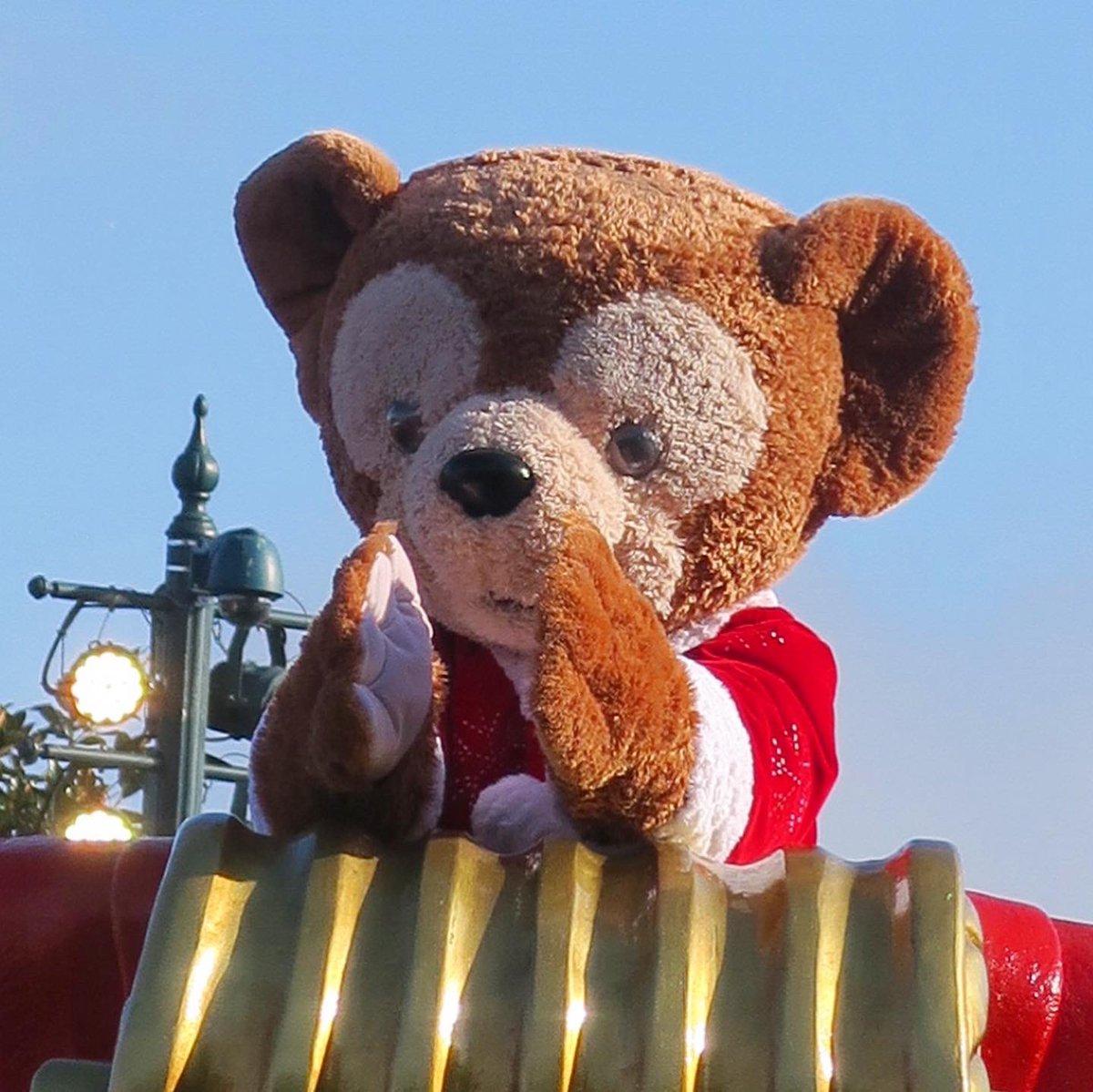 🎄🐻♥️ • Disney's Christmas Parade ! 🎅🏻 💫 🎄   #disneylandparis #disneyparks #disneyXmas #MerryXmas #duffythedisneybear