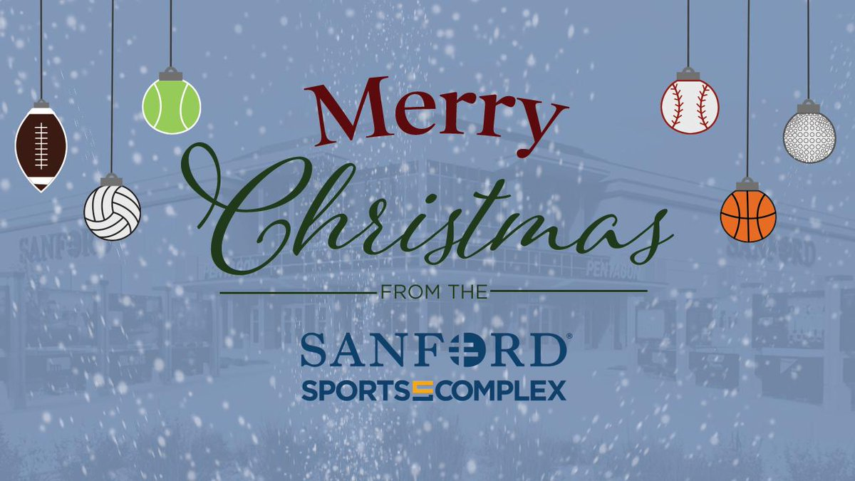 Happy holidays from our family to yours! #SanfordSports