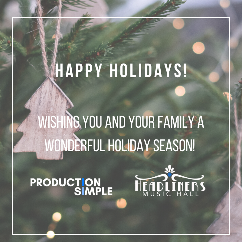 Happy holidays from our family to yours! We're looking forward to an awesome 2020 season!