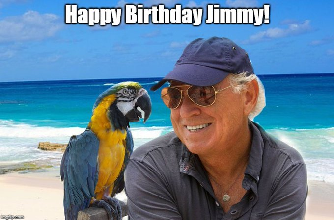 It\s December 25th and that means it\s a very special person\t birthday - Happy Birthday Jimmy Buffett!