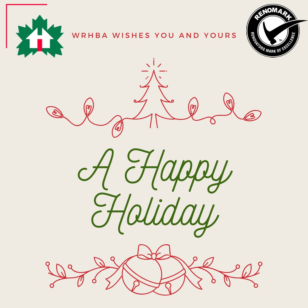 WRHBA wishes you and yours a very Happy Holiday! pic.twitter.com/j1k4bxwbF0