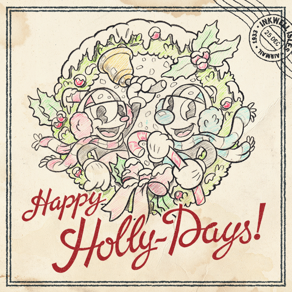 From all of us here at Studio MDHR, we wish you a cheerful & cozy holiday season with the ones you love! https://t.co/47cDkyZAMP