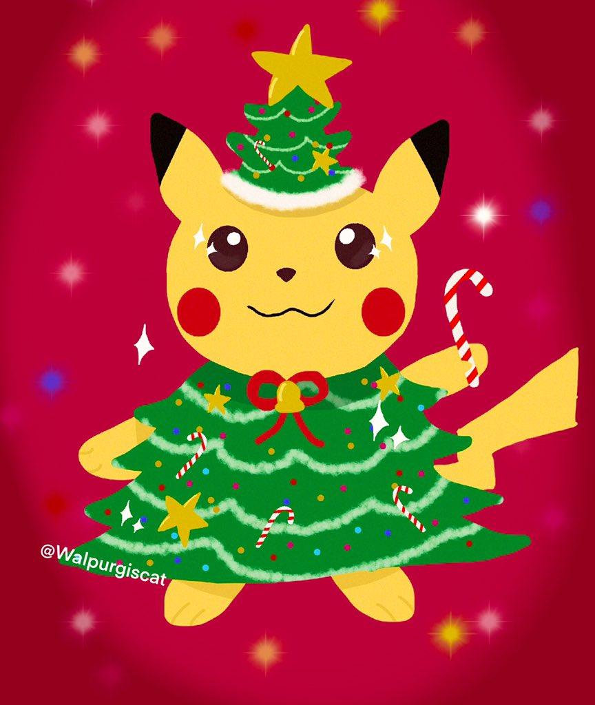 Merry Christmas everyone, hope y'all have an amazing day #PokemonArt #PokemonChristmas #Christmas2019 #illustration #Pokemon #Pikachupic.twitter.com/JNcSOflIF6