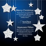 Image for the Tweet beginning: #MerryChristmas #JoyeusesFetes #F2Fevents