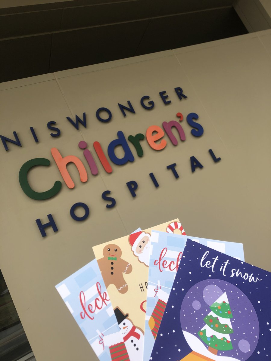 Niswongerchildrens On Twitter We Want To Say A Big Thank You To All Who Filled Out A Christmas Card For Our Patients Online This Year Over 200 Cards Were Passed Out Today