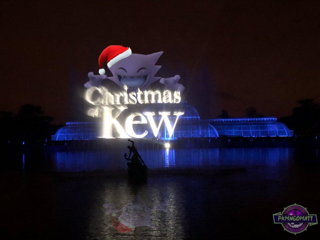 Merry Christmas everyone! #PokemonGo #Pokemon #Christmas #PokemonChristmas #MerryChrismas #kewgardens #Haunterpic.twitter.com/iw2jtRIBRl