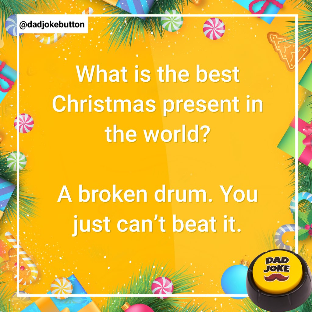 Follow @dadjokebutton  .  #dadjoke #dadjokes #jokes #joke #funny #comedy #puns #punsworld #punsfordays #jokesfordays #funnyjokes #jokesdaily #dailyjokes #humour #relatablejokes #laugh #joking #funnymemes #punny #pun #humor #talkingbuttonpic.twitter.com/SY2Egv1PLU