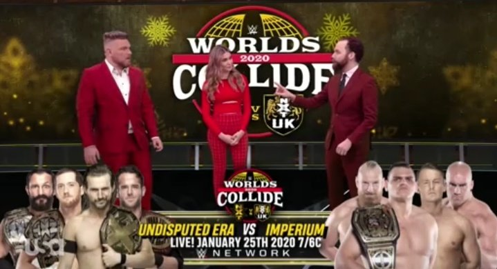 The Undisputed Era Vs. Imperium Announced For WWE Worlds Collide