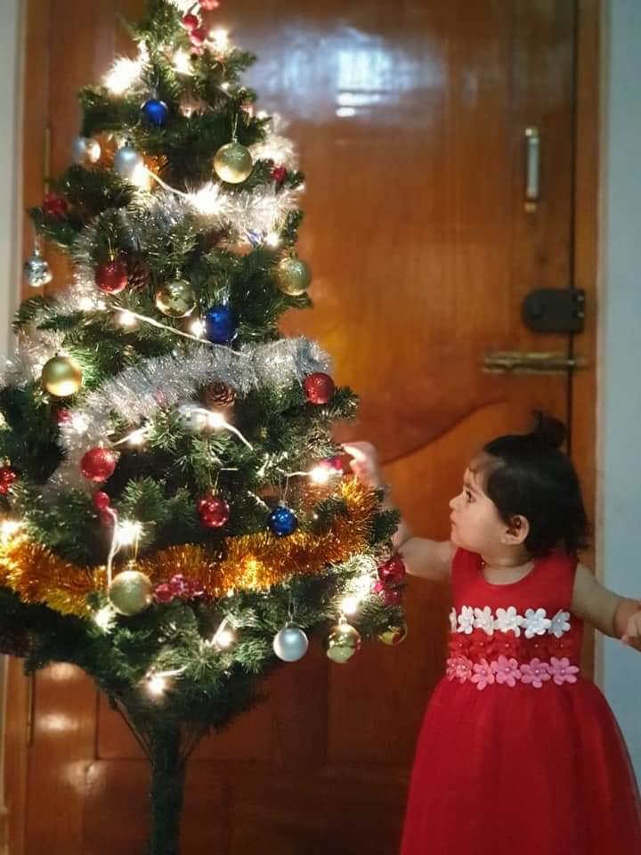 Merry Christmas #ayrababy #Radhikapandith pic.twitter.com/QlgbZ8BiyW