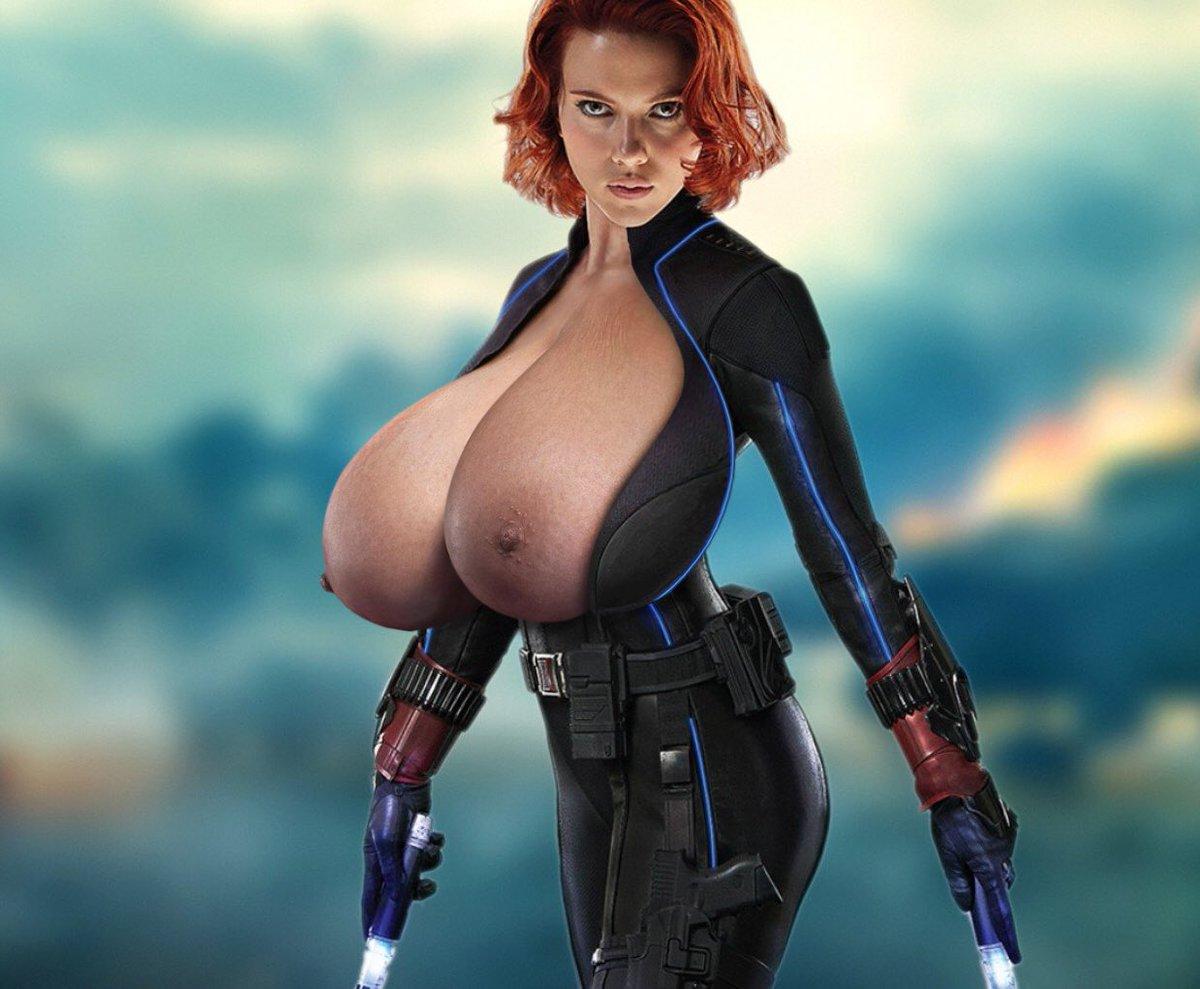 Scarlett Johansson Boobs Are