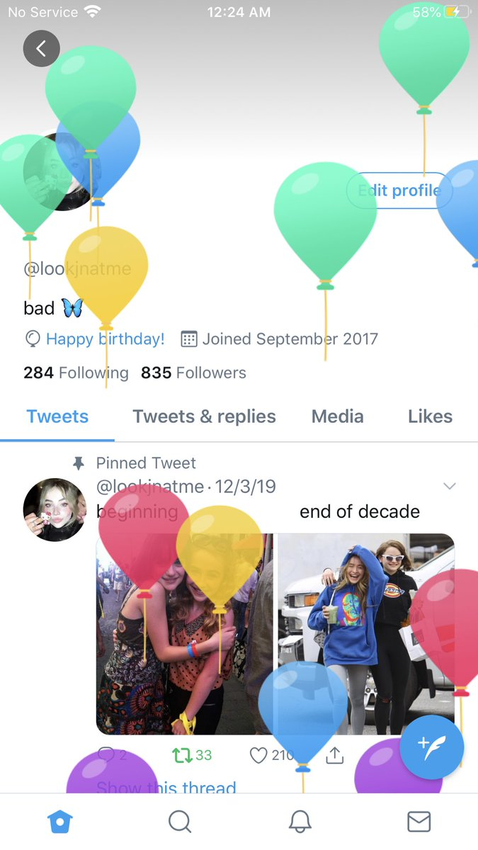 im officially 18 ! 😳