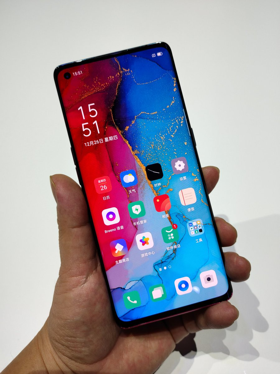 #OppoReno3Pro Hands on images  #Oppo #Reno3Pro5G #Reno3Pro #OppoReno3pic.twitter.com/g7sItyw2uX