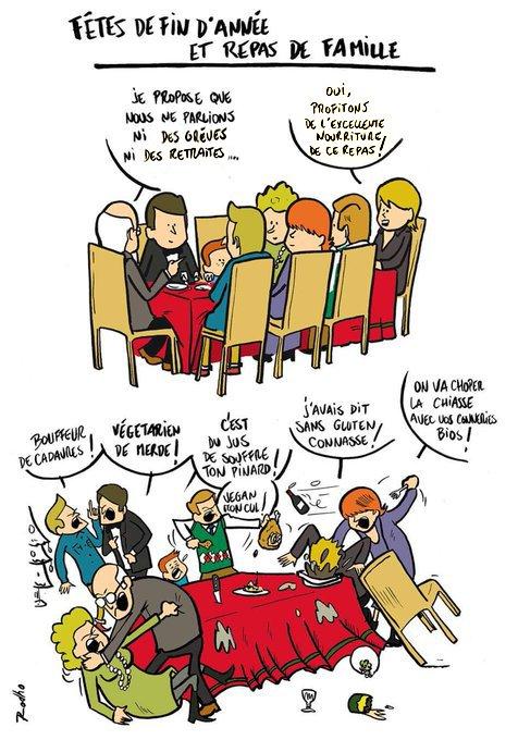 Rodho على تويتر Retraites Greve Noel Bataille Famille Repli