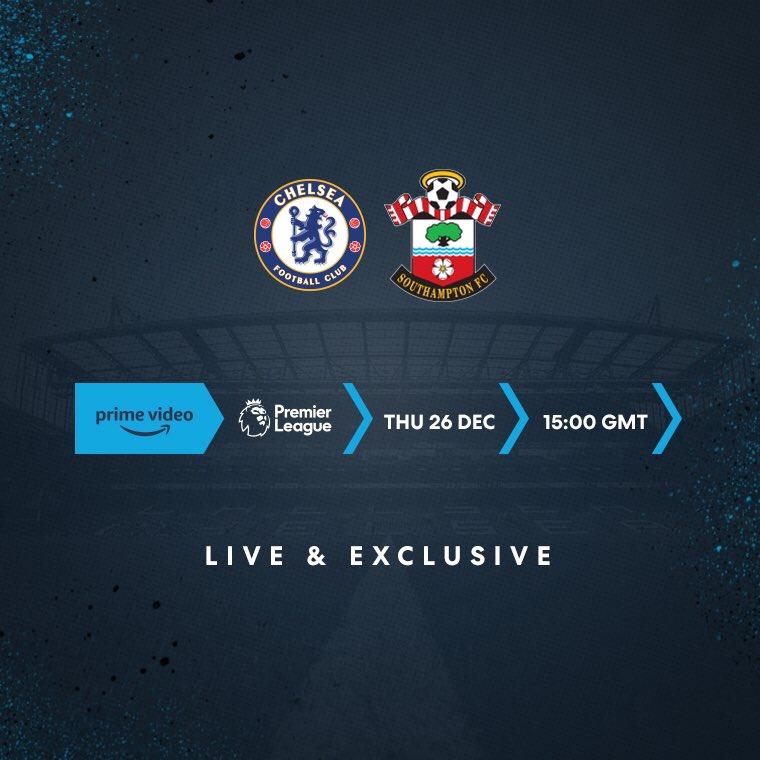 Chelsea Vs Southampton Fa Premier League 2019 2020