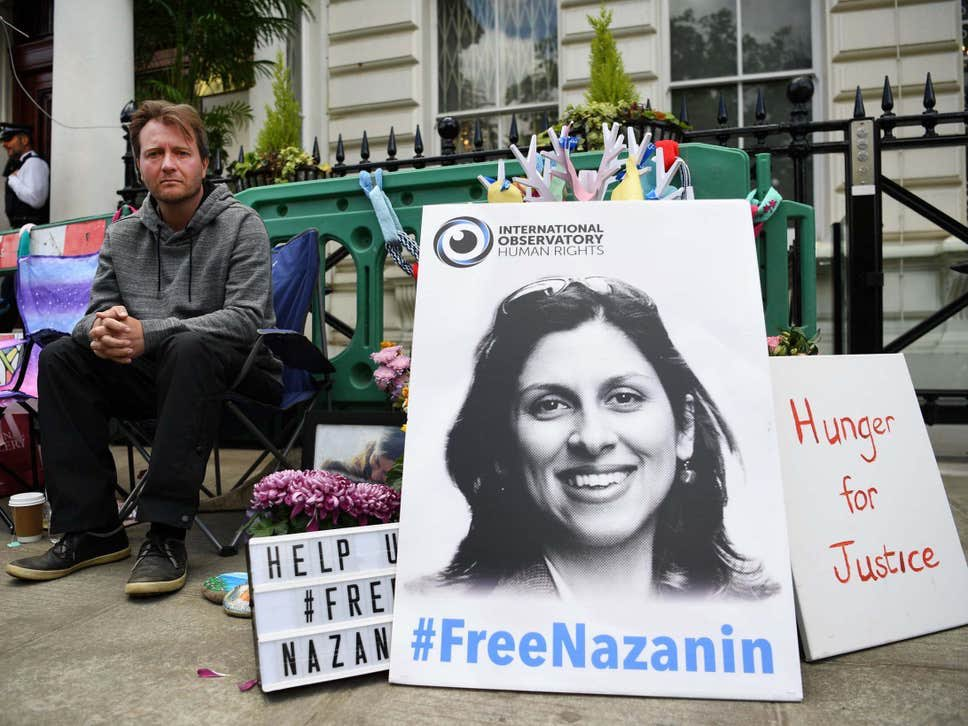 Nazanin Zaghari-Ratcliffe has her birthday today. She should be with her family, not in an Iranian jail. Time for @BorisJohnson and @DominicRaab to finally right this wrong and work to #FreeNazanin
