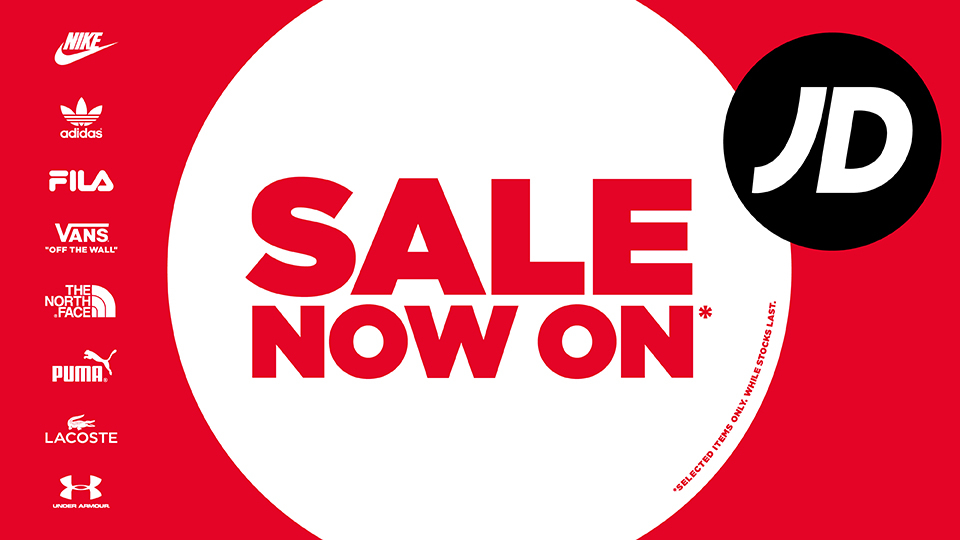 Sale now on at @JDSports Bromley #sale