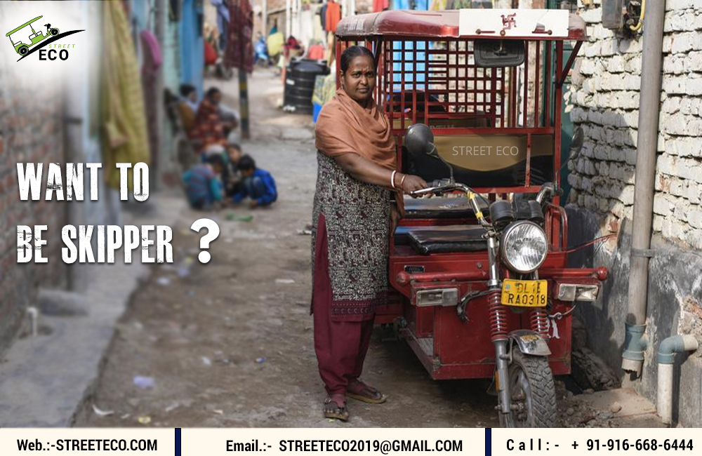 These E-rickshaw helps a lot of people to survive in their lives.  #womenempowerment #womandriver #e_rickshaw #streeteco #womanpower #pollutionfree #environmentfriendly #comingservice #jaipurpic.twitter.com/2GXpmDUWpo