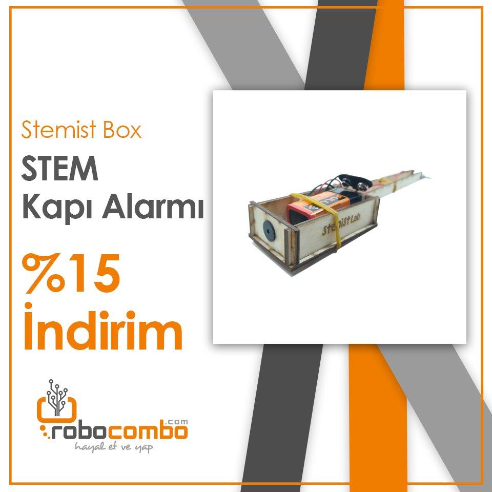 """Yeni Ürün  """"STEM Kapı Alarmı"""" Stoklarımızda!   Ürün Linki: http://www.robocombo.com/stem-kapi-alarmi…  #mekatronik #maker #mekatronikmuhendisligi #arduino #robocombocom #hayaletveyap #robocombo #stem #arduinoset #3dprinter #3dyazici #robot #robotics #robotik #raspberrypipic.twitter.com/flSzQYyseq"""