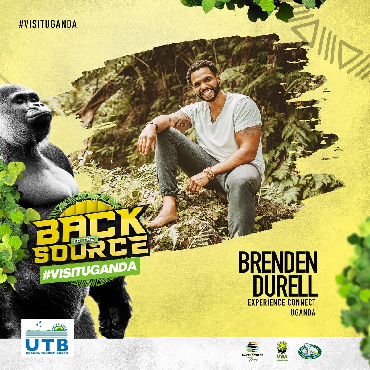 Welcome to Uganda the Pearl of Africa Brenden Durell.  #BackToTheSourceTours #PearlofAfrica #VisitUganda #ExperienceUganda #TulambuleWild #GreatLakesSafaris #BrendenDurell #InnerLightWarrior