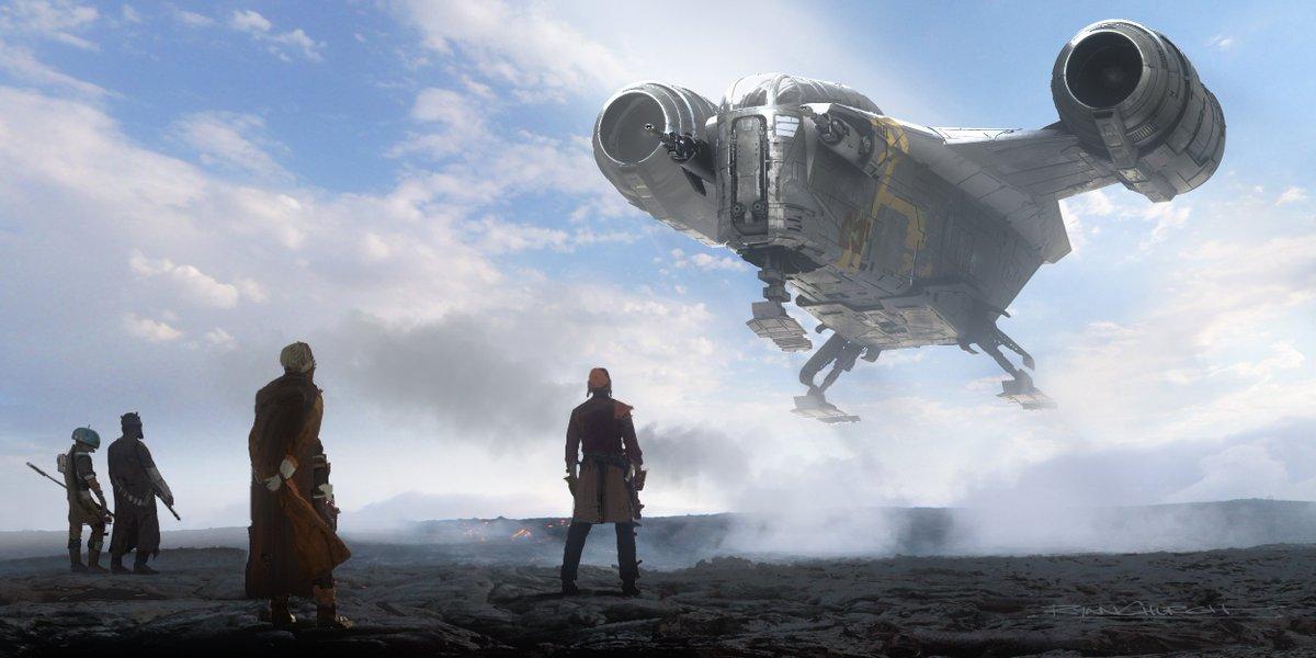 The Mandalorian | Lucasfilm Releases Chapter 7 Concept Arts
