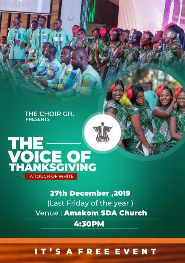 Come with your Dancing shoes, Your handkerchief, A touch of white and a Heat of GratitueIts tomorrow4 :30 pm at AMAKOM SDA CHURCHIT'S FREE A Touch of white