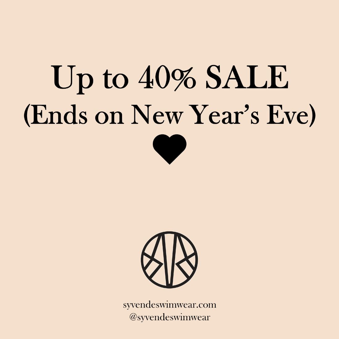 👜👙Up to 40% SALE ends on New Year's Eve! 👙👜 - https://t.co/Atp1fN9u9v #sale #fashionsale #fashion #swimsuit #bikini #sustainablefashion #econyl https://t.co/xNi5tLslcA