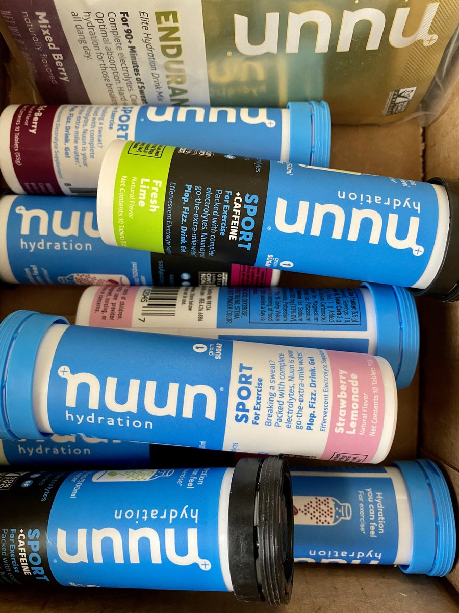 Happy Nuun-day!! Last order of 2019, heading into 2020 well hydrated!! #nuunbassador2019 #nuunlife #makeyourwatercount @nuunhydration<br>http://pic.twitter.com/ba4UeSDun7