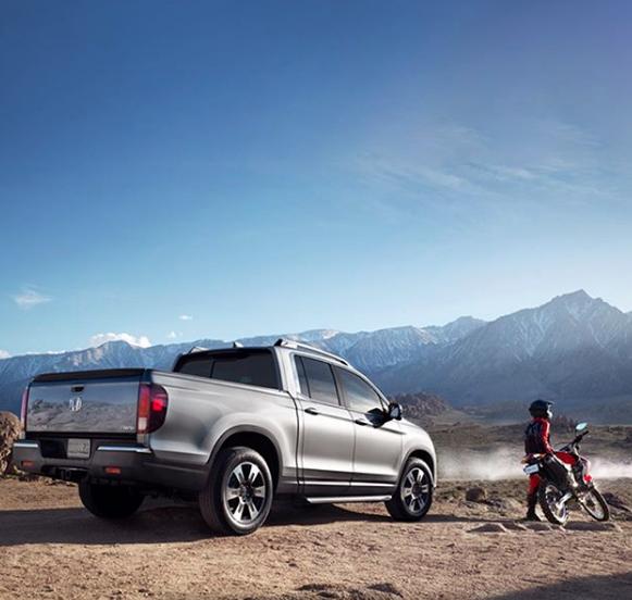 Time to explore. #HondaRidgeline
