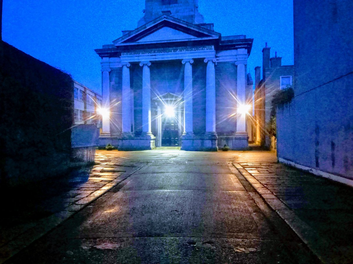 Tis' the season and all that. Stephen's Day shot of St. Nicholas of Myra, Francis Street.