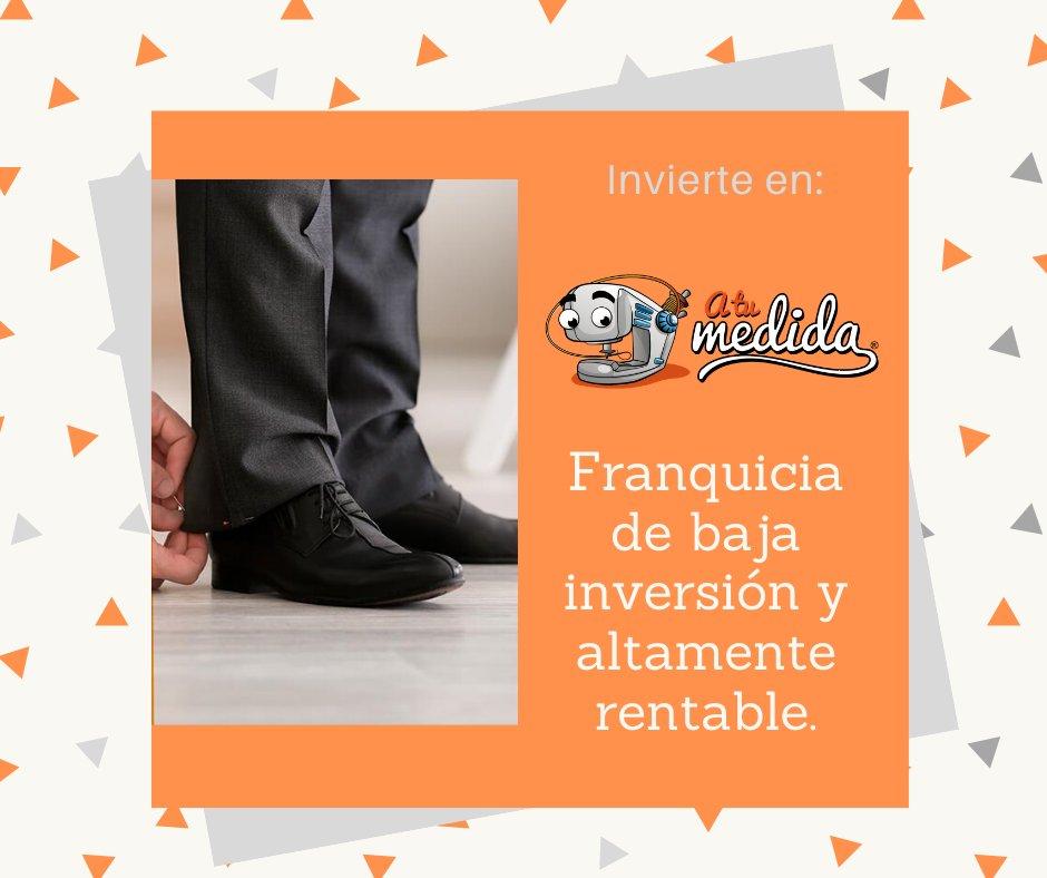 Adquiere tu franquicia con #ATuMedida, líder en ajustes y composturas de ropa en México.  #FranquiciasDisponibles #FeherExpansiónTeAsesora