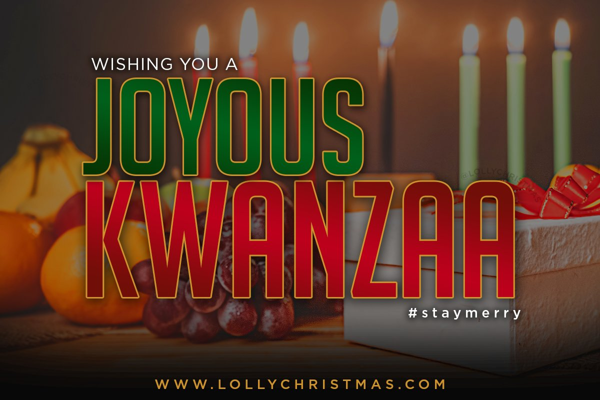 Wishing you a joyous and bright first night of Kwanzaa! #UMOJA https://instagram.com/p/B6jXSgtlByR/ #HappyKwanzaa #StayMerry pic.twitter.com/gV9Q4Y2vGD