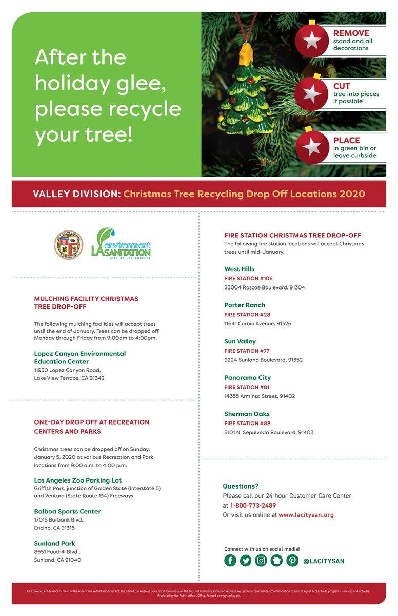 Produce Junction 2020 Christmas Trees LA Sanitation & Environment ♻️💧🌳 on Twitter