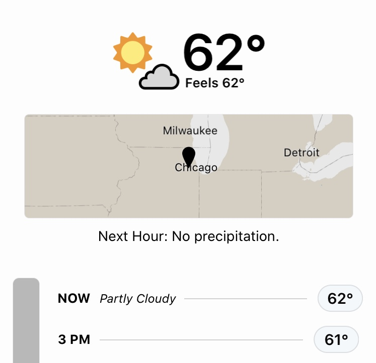 Just your average December 26 Chicago weather 🤷🏻‍♂️ https://t.co/3JDkKjGqVM