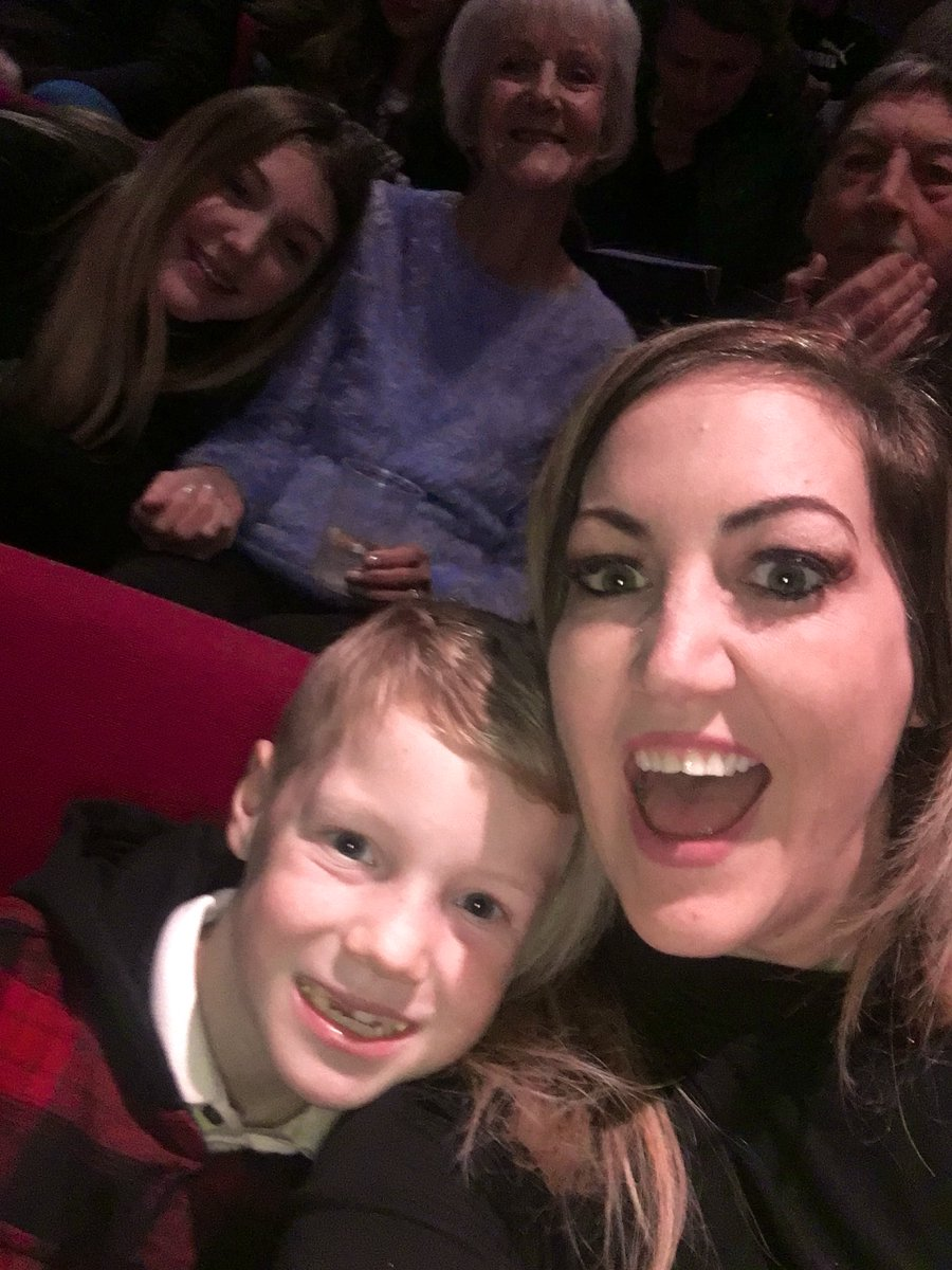 Annual Boxing Day family trip to the @WyvernTheatre panto #fivetoiletrolls #hesbehindyou