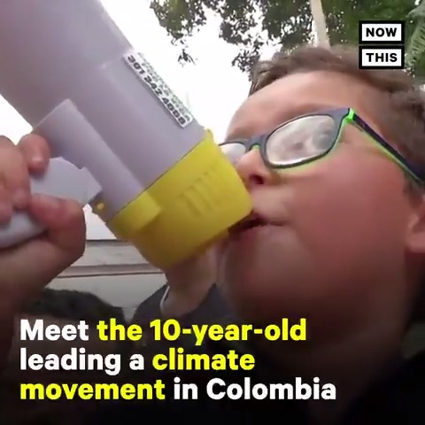 This 10-year-old is leading a climate movement in Colombia