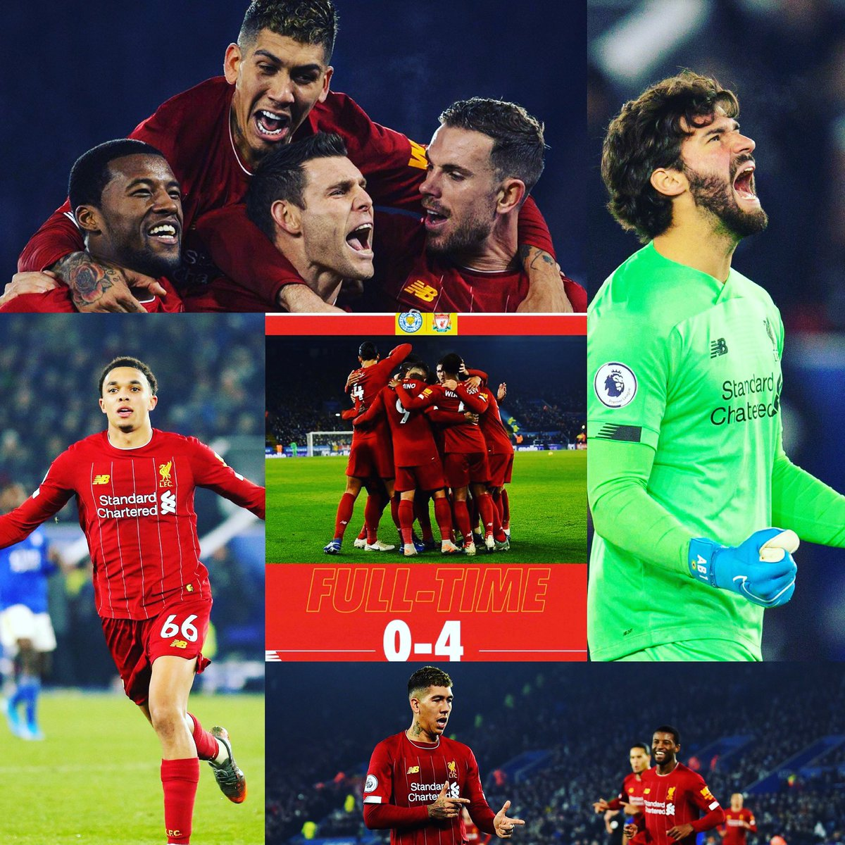 We just keep going. A Boxing Day clean sheet victory for @LFC.  52 points in 18 matches, and 13 points clear at the top of the table. Up the Reds! #leiliv