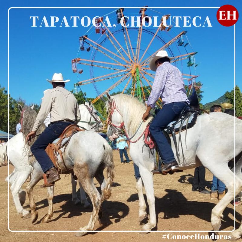 #ConoceHonduras  Con múltiples actividades Tapatoca, Choluteca, celebra su Feria Patronal