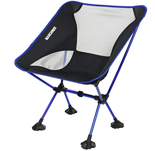 Portable Compact for Outdoor Camp MARCHWAY Ultralight Folding Camping Chair Lightweight Backpacking Picnic Hiking Beach Festival Travel