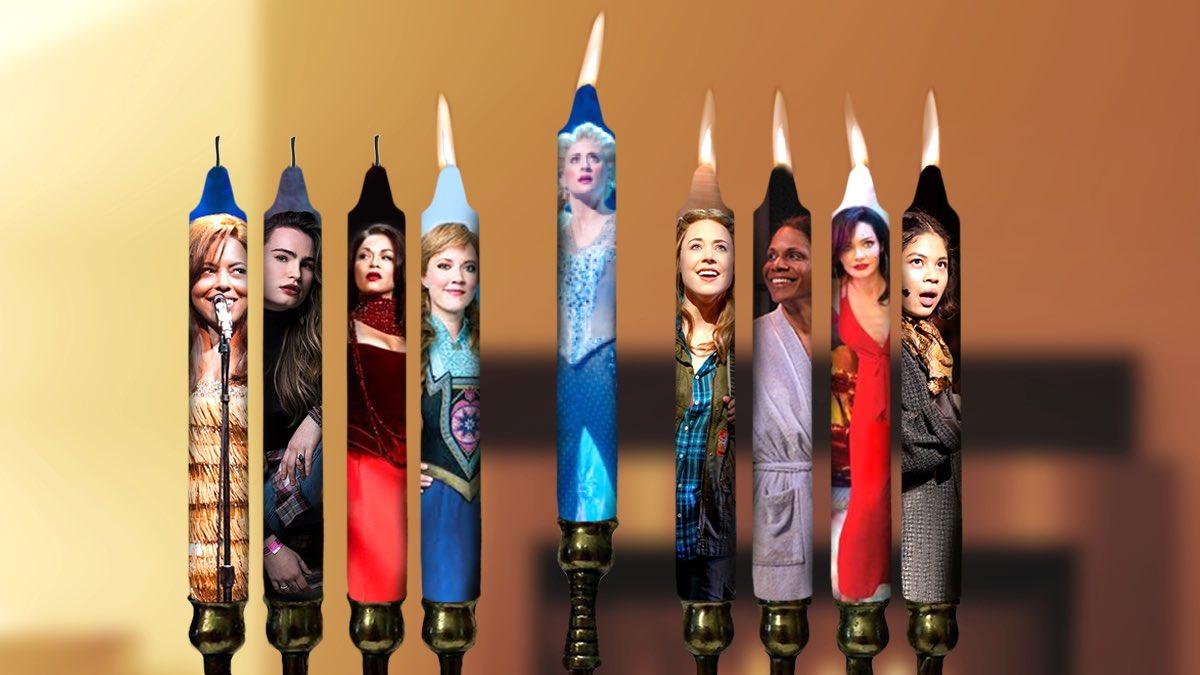 On the 5th night of Chanukah, we light the... Leading Womenorah! #HappyHanukkah