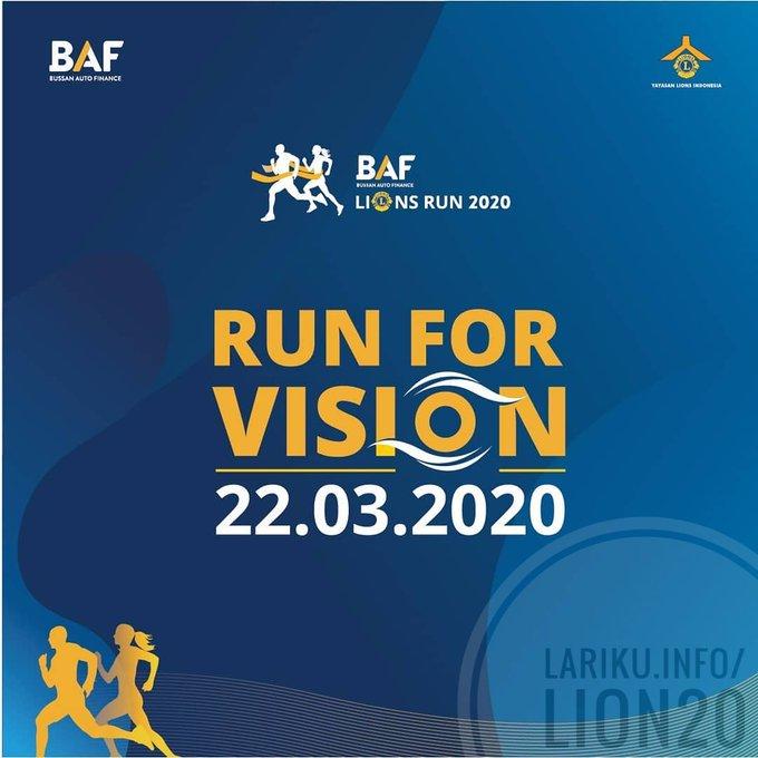 BAF Lions Run • 2020