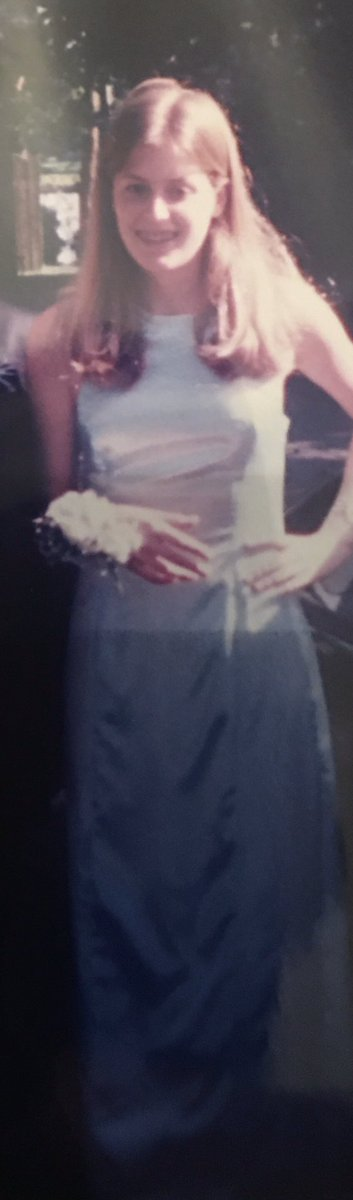 @sane_podcast @JessicaKirson I found the prom dress that I used for stripping for the first time.