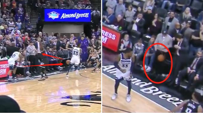 【影片】邊線球再次難倒NBA球員!Teague直接砸隊友大腿,Walton差點被襲襠!