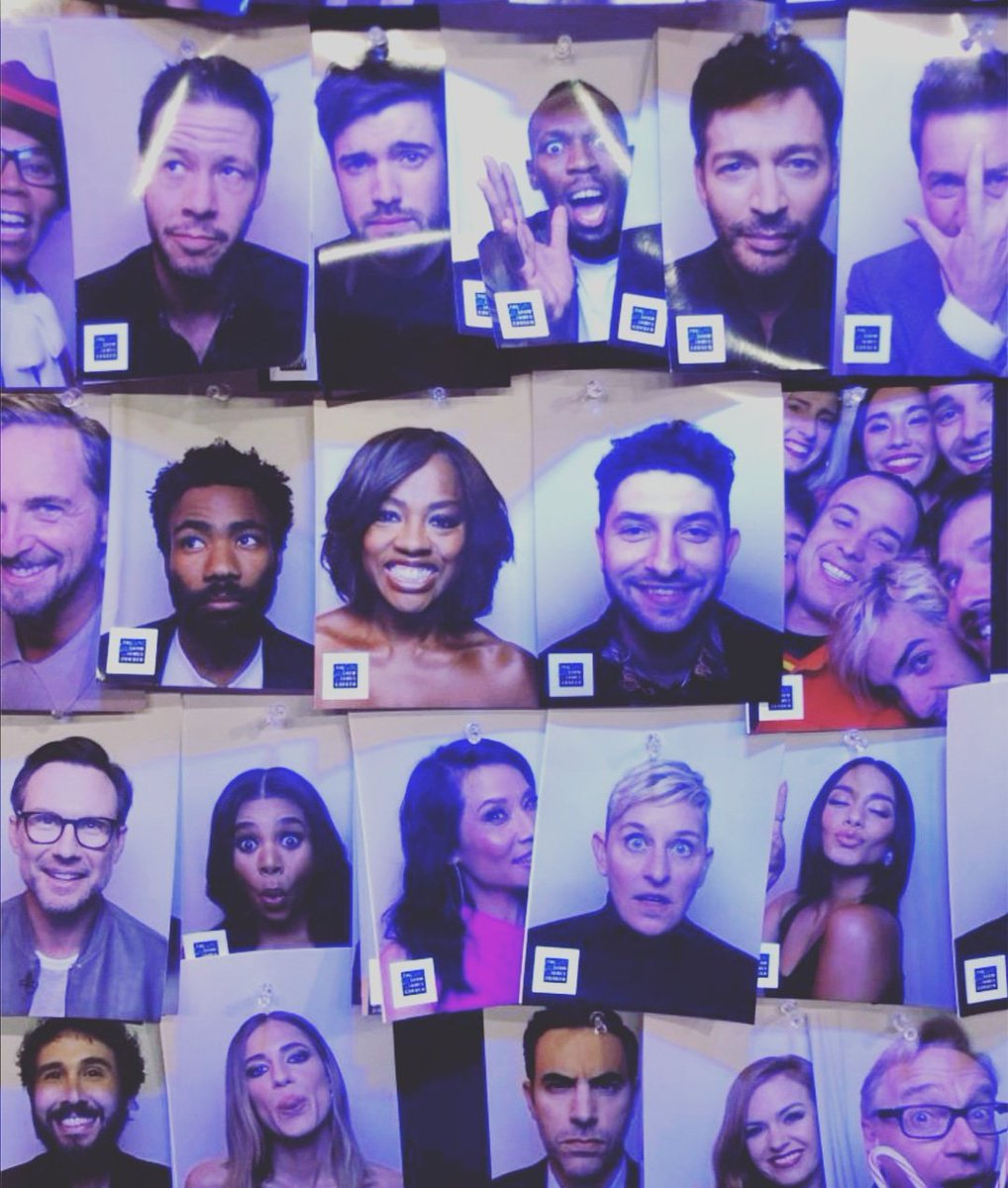 Well this is hillarious. My goofy face made it onto the Late Late shows wall of fame, right in the middle of some of the biggest stars in the world. Repping Northampton music scene in L.A.  Anyone I've missed? #ellen #usainbolt #latelateshow #sachabaroncohen #jackwhitehallpic.twitter.com/qcwVFVIyeW