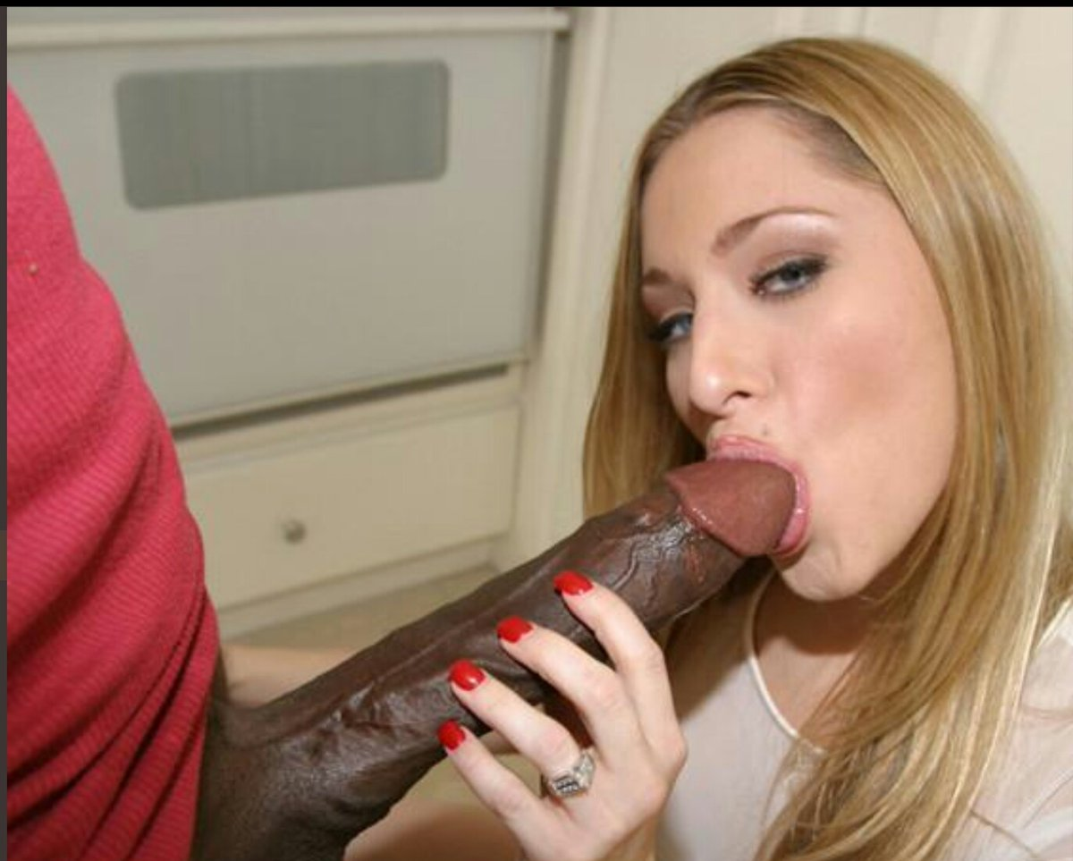 Year old blonde wants that black dick
