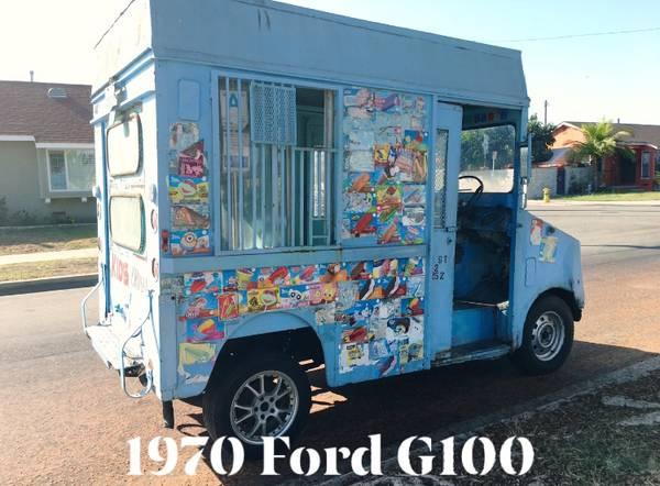 Los Angeles Craigslist Cars >> Rare Cars On Twitter 1970 Ford G100 Postal Truck Ice