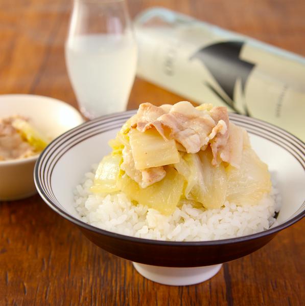 レンジで【豚バラ白菜のだしポンうま煮】超簡単なのにハマる味です