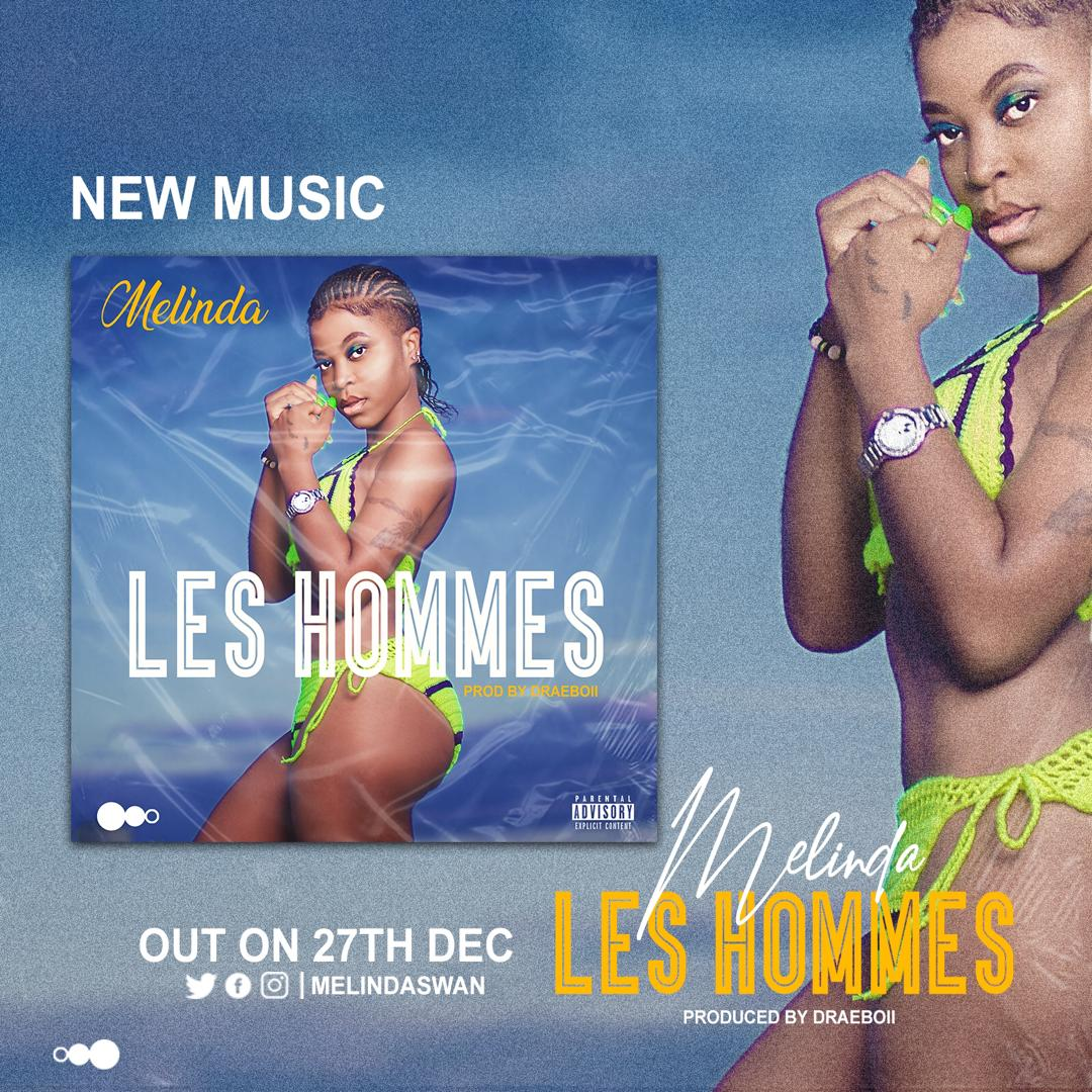 @melindaswan11 is about to drop her new song #LesHommes produced by @SangoEdi. #237Community abeg wuna be ready for makam go viral.<br>http://pic.twitter.com/B7d4j6HDk9