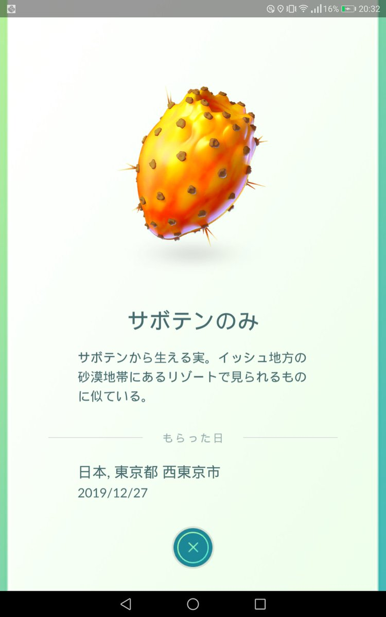 相棒 おみやげ ポケモンgo